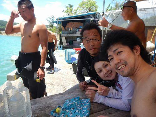 沖縄県那覇市のおすすめダイビングショップ潜水どうでしょう評判口コミ貸切体験ツアー