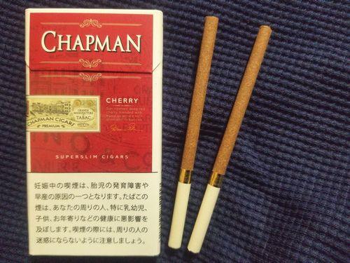 山梨甲府タバコ屋フィルターが甘いタバコCHAPMANチャップマンスーパースリム