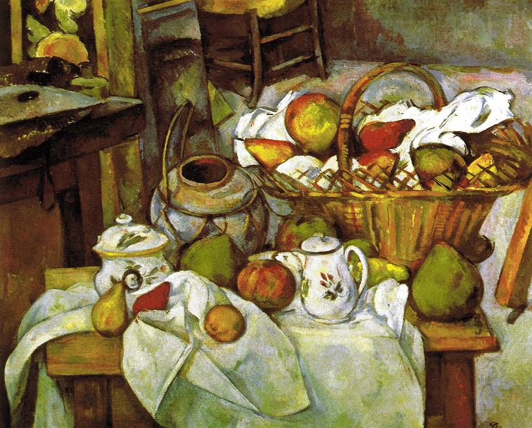 カラヴァッジョ(カラヴァッジオ)-果物籠-(画像・壁紙)