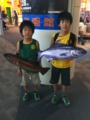 魚のショルダーバッグを買わされた…(ーー;)