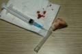 needle+