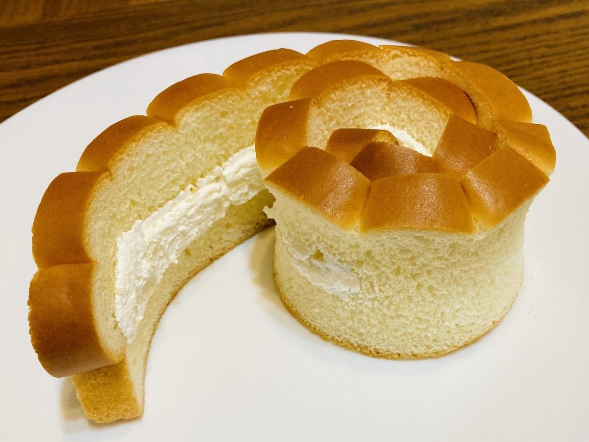 バラパンと自家製バタークリーム