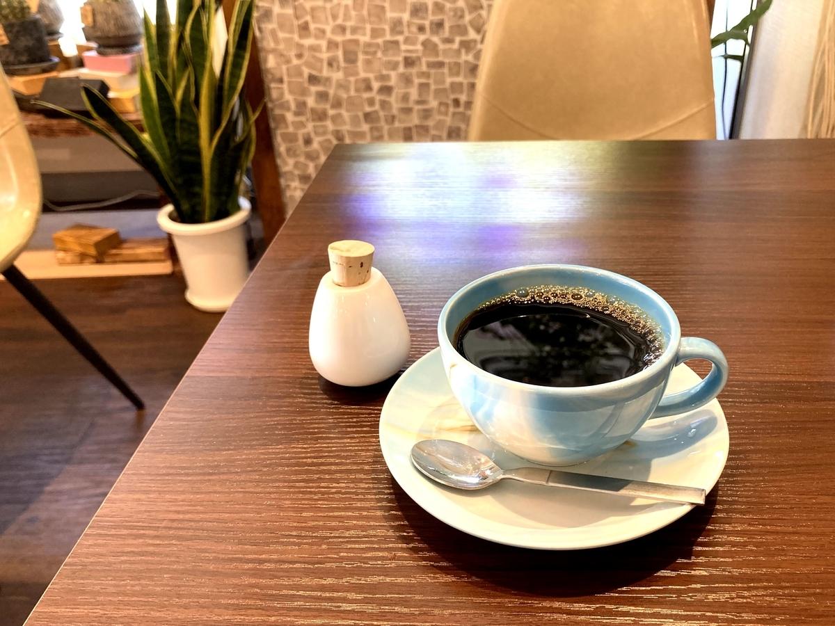 カフェの塩コーヒー