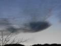 地震雲っぽい雲 2011.3.3携帯で撮影