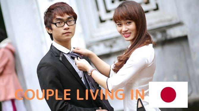 日本とベトナムのカップル