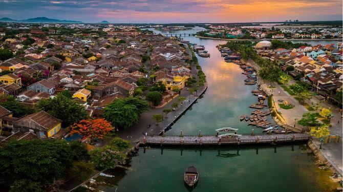 ベトナムの町並み画像