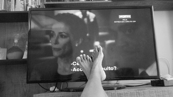 テレビ写真