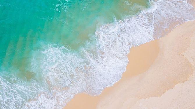 ダナンの海画像