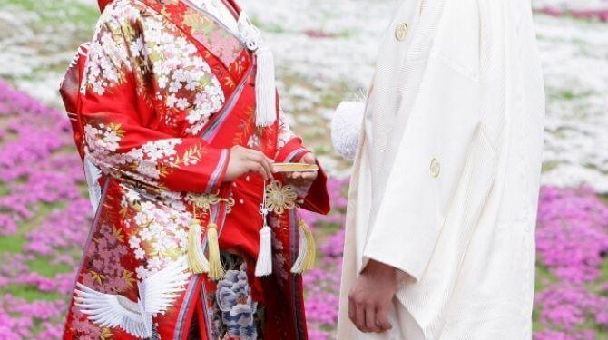 和装結婚画像