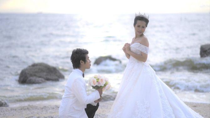 花嫁に嫌われた花婿の画像