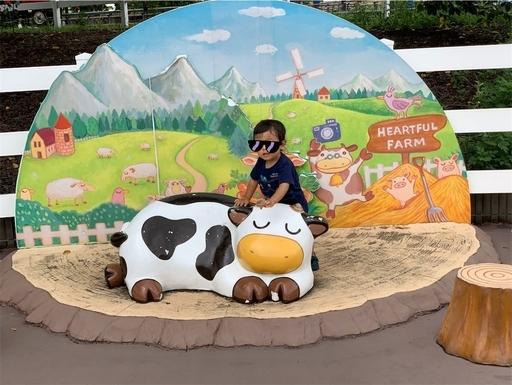 東武動物公園フォトブース