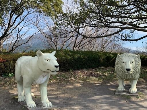 桜島自然恐竜公園の遊具