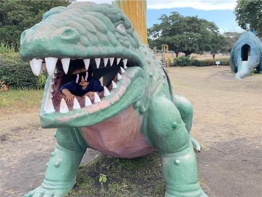 桜島自然恐竜公園の恐竜