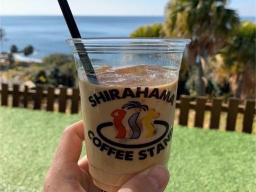 シラハマコーヒーのラテ