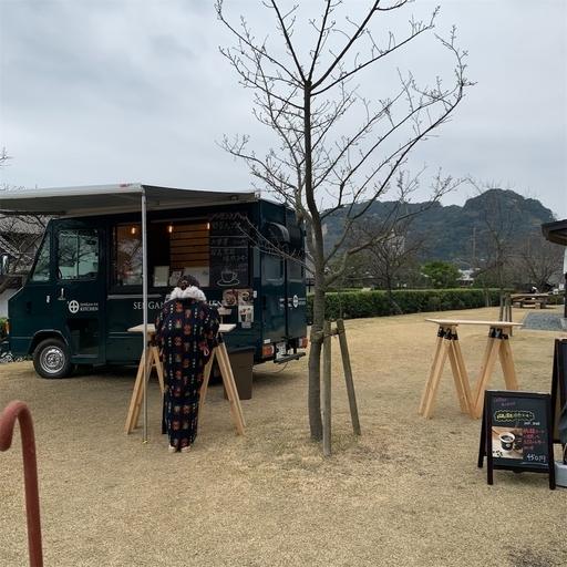 仙巌園のキッチンカー