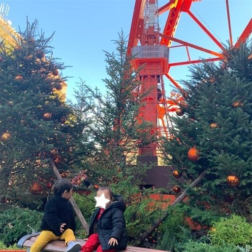 クリスマス仕様の東京タワー