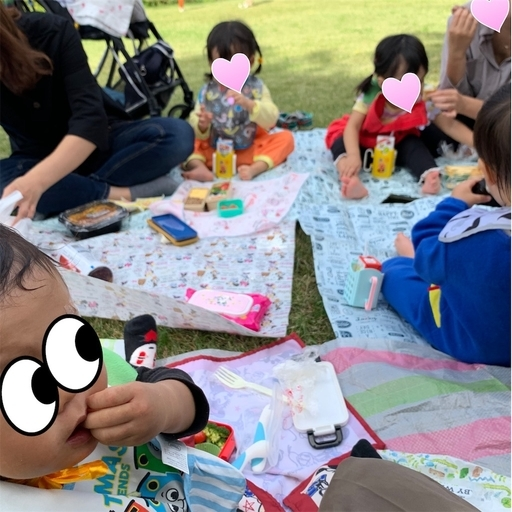 夢の島熱帯植物館でピクニック