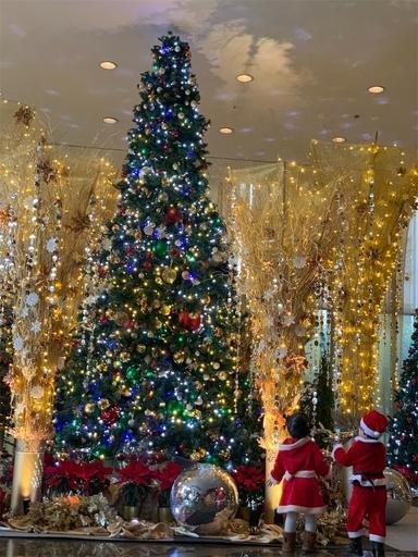 グランドハイアットのクリスマスツリー