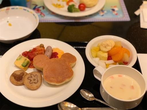 シェフミッキーの朝食ビュッフェ