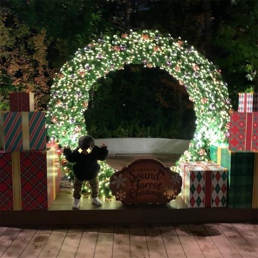 イクスピアリのクリスマスイルミネーション