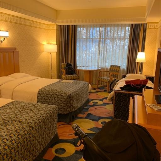 アンバサダーホテルのスーベニアルーム客室