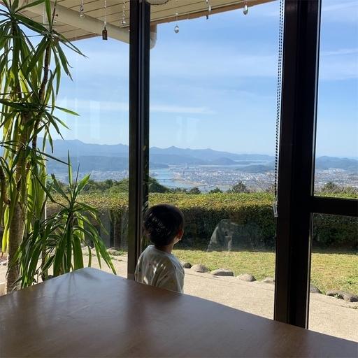 山カフェからの眺め