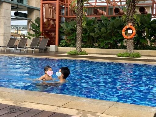 ハードロックホテルシンガポールのプール