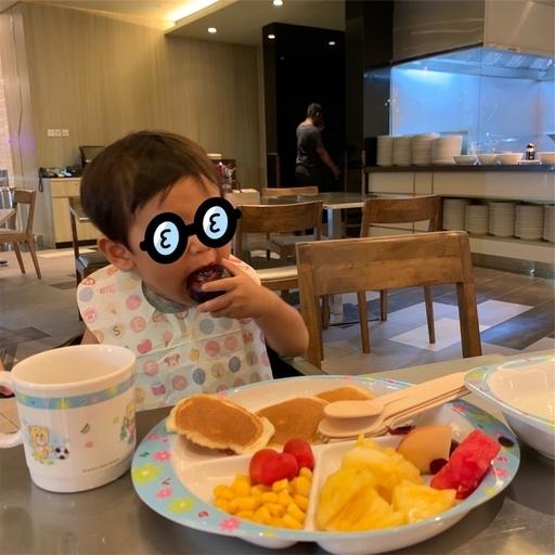 ハードロックホテルの朝食
