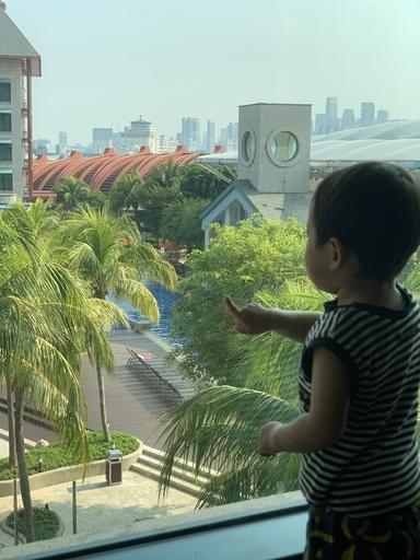 ハードロックホテルシンガポールの客室