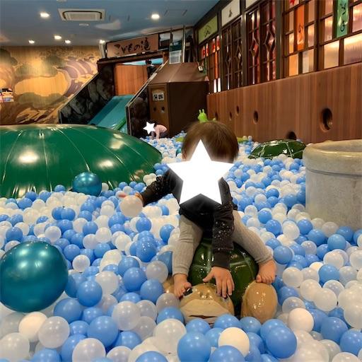 子どもの湯とは日本最大級のボールプール