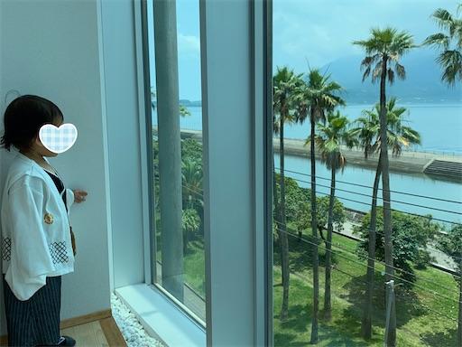 マリンパレス錦江湾と桜島が一望できる部屋