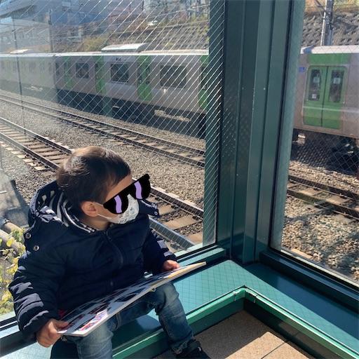 恵比寿ガーデンプレイスで電車観覧