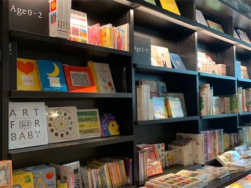 六本木蔦屋書店の児童書コーナー