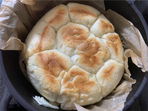 2歳児が作ったちぎりパン