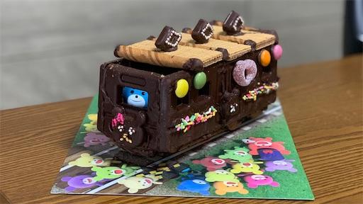 チョコレートの電車