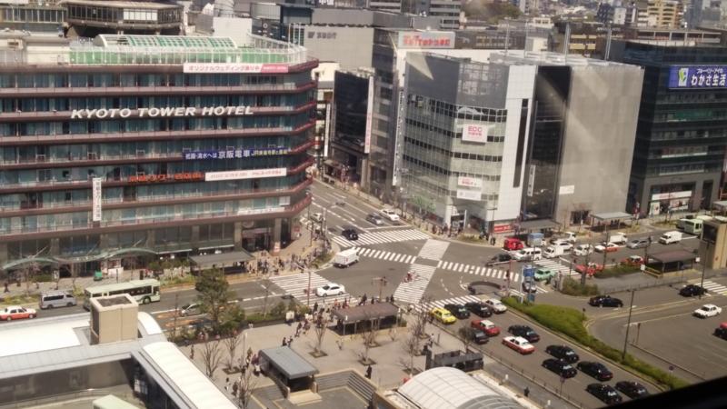 2014.3.28京都駅・空中径路から