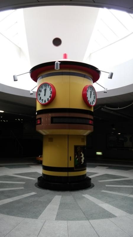 2014.6.13富山駅北地下道からくり時計(平常時)