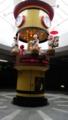[富山県]2014.6.13富山駅北地下道からくり時計(9,12,15,18時に動きます)