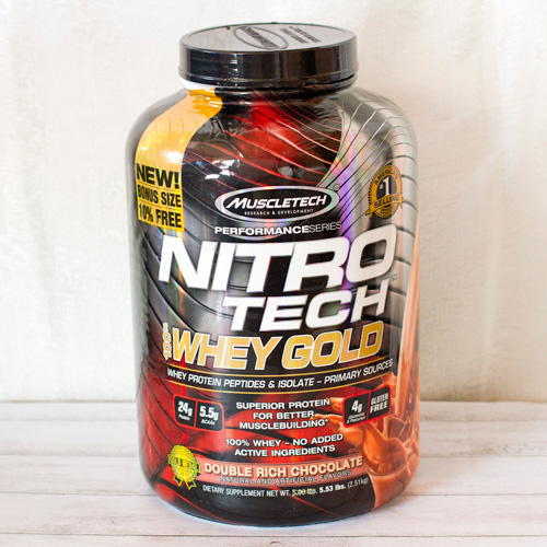 MuscleTech(マッスルテック)ニトロテック 100%ホエイゴールド