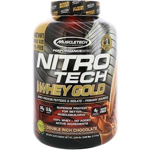 MuscleTech(マッスルテック)ニトロ テック 100%ホエイゴールド
