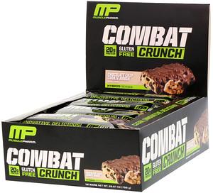 MusclePharm コンバットクランチ( チョコレートチップクッキーダフ)