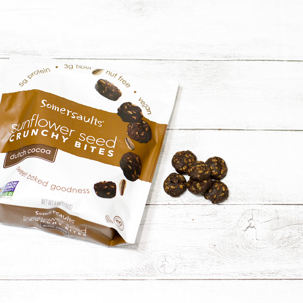Somersaults, Sunflower Seed Crunchy Bites, Dutch Cocoa, 6 oz (170 g)