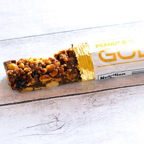 カリフォルニアゴールドニュートリションゴールドバーピーナッツダークチョコレートチャンク
