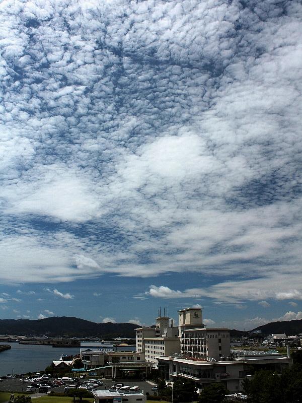 [秋の空][うろこ雲]