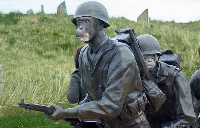 チンパンジー兵士n