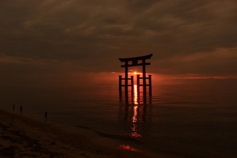 京都新聞写真コンテスト 日の出を捕える