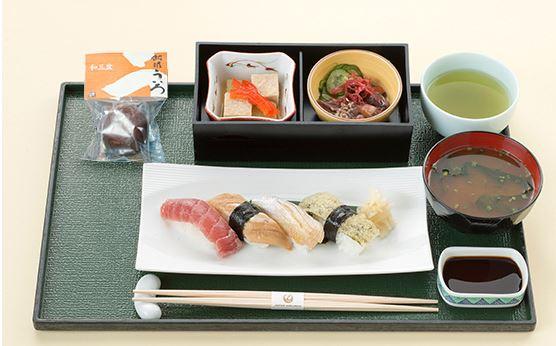 JAL伊丹Fクラスの食事