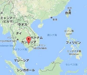 日本からカンボジア