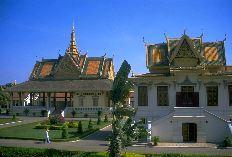 カンボジアの王宮