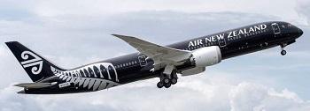ニュージーランド航空の機体